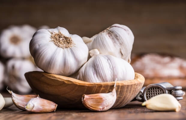 garlic for  improving metabolism