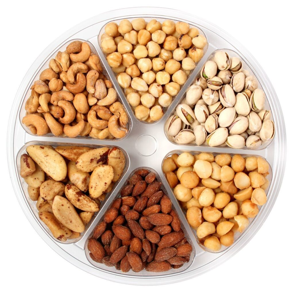 Nuts for improving metabolism and burning fat