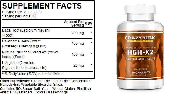 crazybulk HGH ingredients